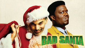 Netflix box art for Bad Santa