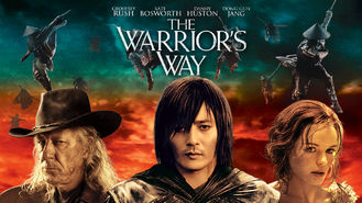 Netflix box art for The Warrior's Way