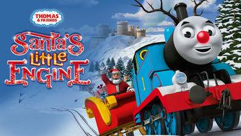 Netflix Box Art for Thomas & Friends: Santa's Little Engine