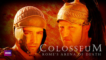Netflix box art for Colosseum: Rome's Arena of Death