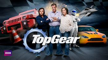 Netflix box art for Top Gear - Series 10