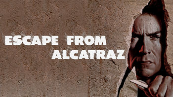 Netflix box art for Escape from Alcatraz