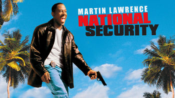 Netflix box art for National Security