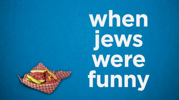 Netflix box art for When Jews Were Funny