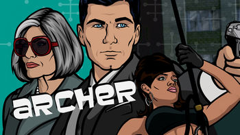 Netflix box art for Archer - Season 5