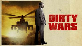 Netflix box art for Dirty Wars