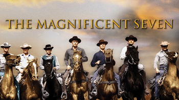 Netflix box art for The Magnificent Seven
