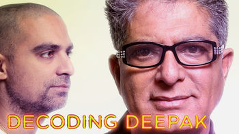 Netflix box art for Decoding Deepak