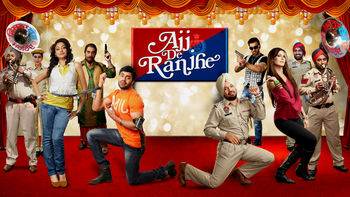 Netflix box art for Ajj De Ranjhe