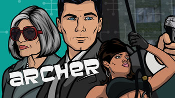 Netflix box art for Archer - Season 1