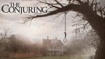 Netflix box art for The Conjuring
