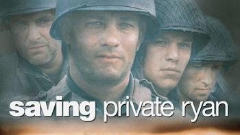 Netflix box art for Saving Private Ryan