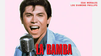 Netflix box art for La Bamba