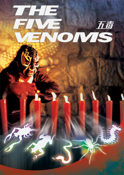 The Five Venoms Netflix BR (Brazil)
