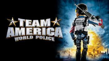Netflix box art for Team America: World Police