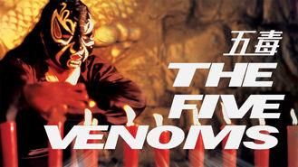 Netflix box art for The Five Venoms