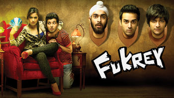 Netflix box art for Fukrey