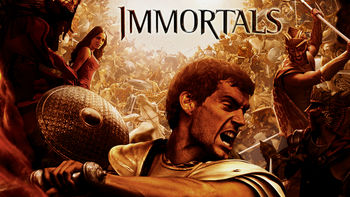 Netflix box art for Immortals
