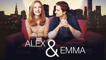 Netflix box art for Alex and Emma