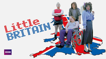 Netflix box art for Little Britain - Series 2