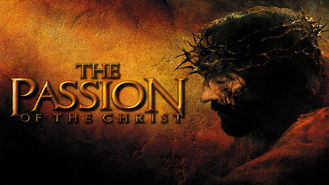 Netflix box art for The Passion of the Christ