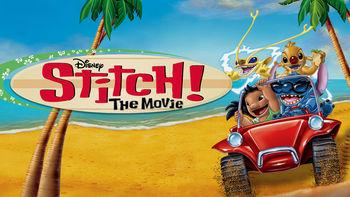 Netflix box art for Stitch! The Movie