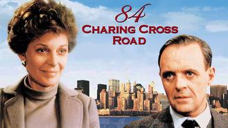 Netflix box art for 84 Charing Cross Road