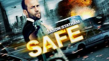Netflix box art for Safe