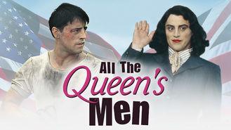 Netflix box art for All the Queen's Men