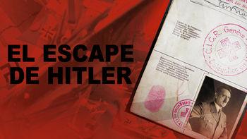 Netflix box art for El Escape de Hitler
