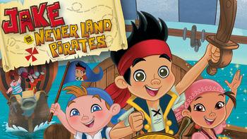 Netflix box art for Jake and the Never Land Pirates - Season 1
