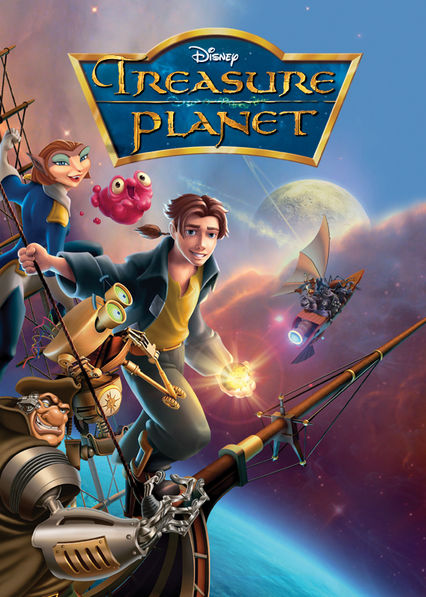 Treasure Planet Netflix BR (Brazil)