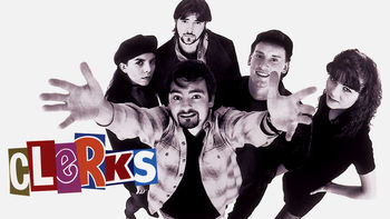 Netflix box art for Clerks