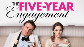 Netflix box art for The Five-Year Engagement