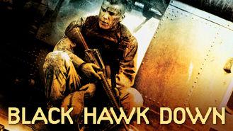 Netflix box art for Black Hawk Down
