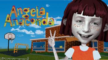 Netflix box art for Angela Anaconda - Season 1