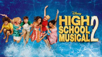 Netflix box art for High School Musical 2