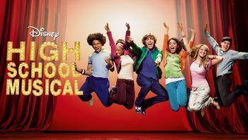 Netflix box art for High School Musical