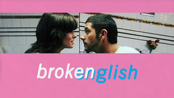 Netflix box art for Broken English