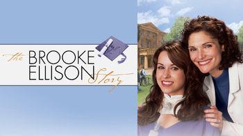 Netflix box art for The Brooke Ellison Story