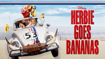 Netflix box art for Herbie Goes Bananas