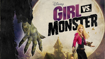 Netflix box art for Girl vs. Monster