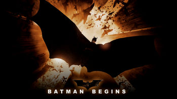Netflix box art for Batman Begins