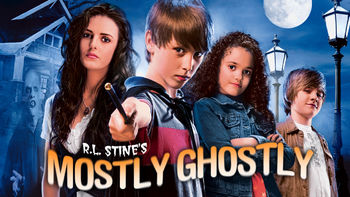 Netflix box art for R.L. Stine's Mostly Ghostly