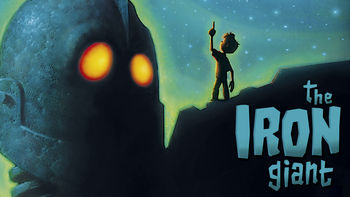 Netflix box art for The Iron Giant