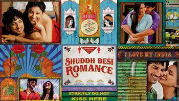 Netflix box art for Shuddh Desi Romance