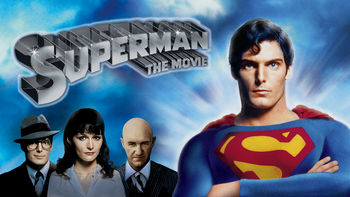 Netflix box art for Superman: The Movie