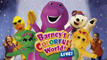 Is Barney: Barney's Colorful World: Live on Netflix?