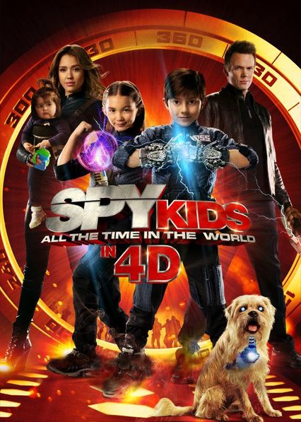 Spy Kids: All the Time in the World Netflix BR (Brazil)