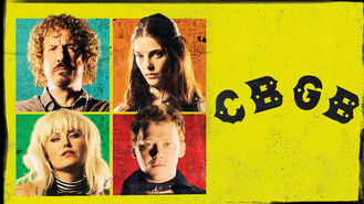 Netflix box art for CBGB